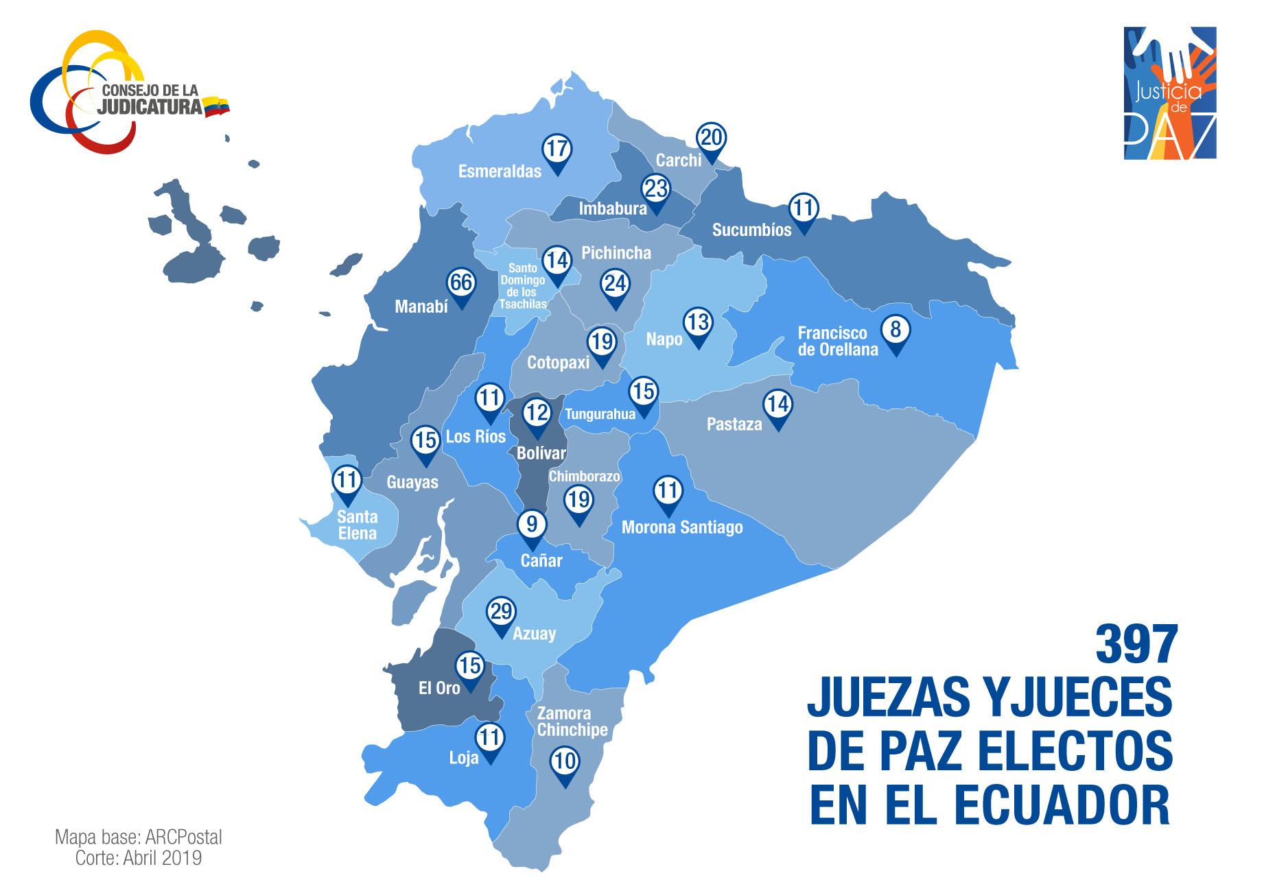 MAPA-NACIONAL-2019 JUSTICIA DE PAZ
