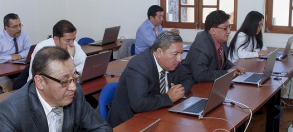 Postulantes a la Corte Nacional de Justicia rinden prueba práctica