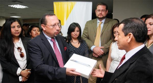 El Consejo de la Judicatura otorga reconocimiento ciudadano