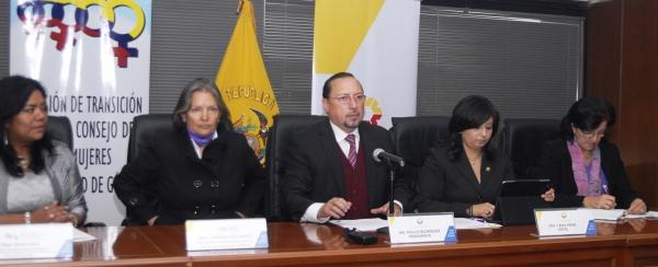 Consejo de la Judicatura trabaja por un sistema nacional de atención a la violencia contra la mujer