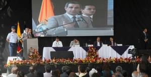 Discurso del Dr. Gustavo Jalkh en la inauguración de la Unidad Judicial Multicompetente del cantón Vinces