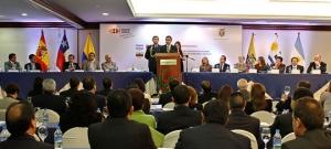 Discurso Dr. Gustavo Jalkh en seminario internacional sobre el recurso extraordinario de casación