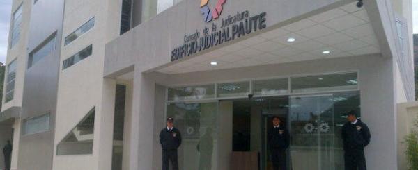 Consejo de la Judicatura inaugura edificio judicial de Paute