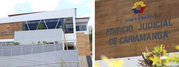 Consejo de la Judicatura inaugura edificio judicial en Cariamanga