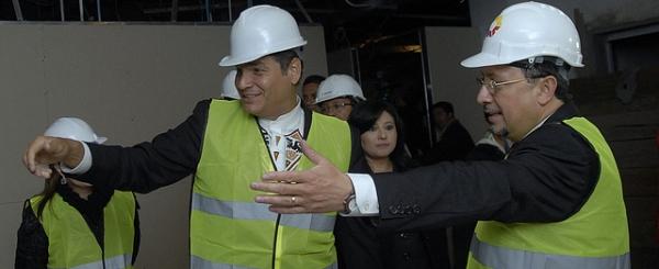 """Presidente Rafael Correa: """"El Proceso de cambio en La Justicia es un buen ejemplo en América Latina y en el mundo entero"""""""