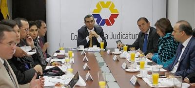Consejo de la Judicatura, ministros de Estado y Defensoría Pública aúnan esfuerzos para mejorar la justicia laboral (Con versión Kichwa)
