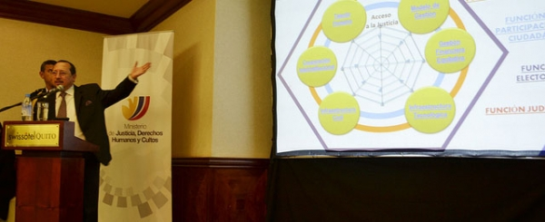 Policías podrían usar conferencia virtual en procesos judiciales