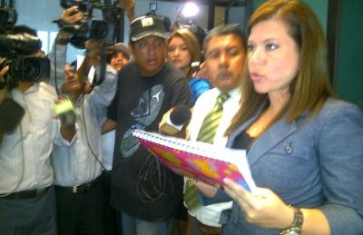 Verónica Llaguno, Directora Provincial del Consejo de la Judicatura de Guayas.