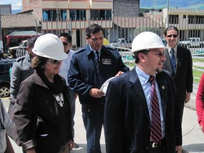 En Tungurahua: Transformación de la justicia avanza con rapidez y calidad, según veedora internacional