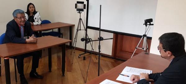 Inicia proceso de entrevistas para el concurso de jueces de la Corte Nacional de Justicia