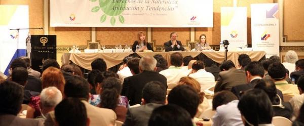 El primer Seminario Internacional de Derechos de la Naturaleza convocó a profesionales judiciales