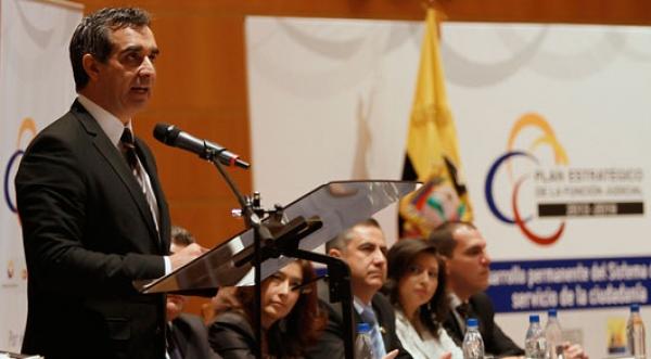 Discurso del Dr. Gustavo Jalkh en presentación del Plan Estratégico de la Función Judicial