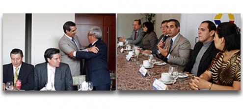 Conjueces y Conjuezas de la Corte Nacional de Justicia se reúnen con autoridades del Consejo de la Judicatura