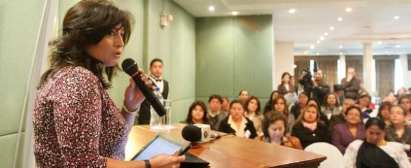 Dra. Tania Arias destaca participación de las mujeres como operadoras de Justicia