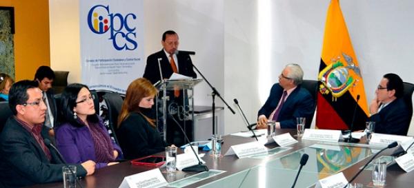 Ing. Paulo Rodríguez destaca aporte  de universidades a la Escuela Judicial (Con Versión Kichwa)