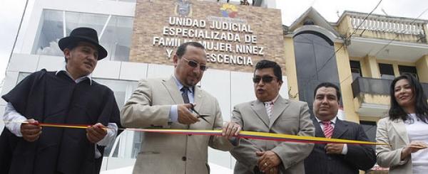 """Ing. Paulo Rodríguez: """"La Justicia ya brilla en Yantzaza"""""""
