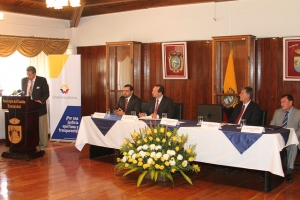 Consejo de la Judicatura suscribió escritura para construcción de unidad judicial de Sangolquí