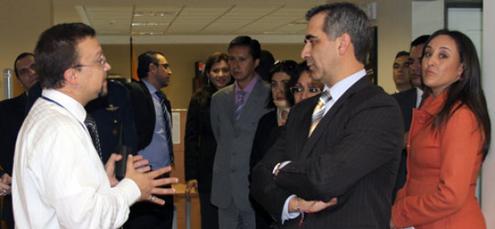 Presidente del Consejo de la Judicatura visita Edificio Judicial en Cuenca