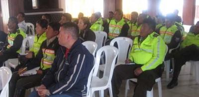 Judicatura y Fiscalía capacitan a policías en Chimborazo