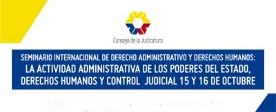 Seminario sobre Derecho Administrativo reunirá a las autoridades estatales