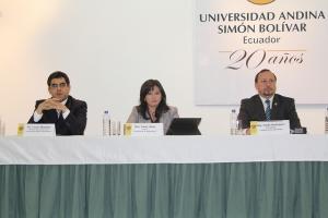 Proyecto de Código General del Proceso se debate en la Universidad Andina (Con Verisón Kichwa)