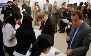 Postulantes a notarios empezaron a rendir pruebas prácticas (Con versión Kichwa)